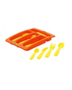 Cutlery Set With Tray 17pcs