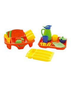 Kitchen Set With Dishrack and Cutlery Drawer 40pcs