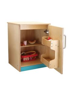 Masterclass Birch Plywood Fridge Unit