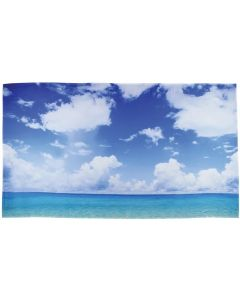 A Day at the Beach Playscene Backdrop 3mW x 1.7mH