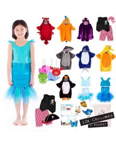 Under the Sea Costumes Set of 10 Children's and 1 Educator Costume