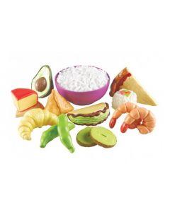 Multicultural Foods Set 15pcs