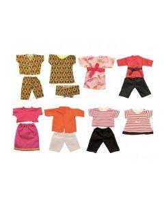 Multicultural Dolls Clothes Set