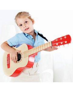 Red Flame Acoustic Junior Guitar