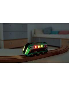 Solar Light-Up Train