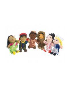 One World Hand Puppet Set of 6