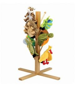 Wooden Puppet/Costume Stand