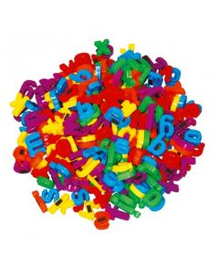 Bulk Magnetic Lowercase Letters 288pcs