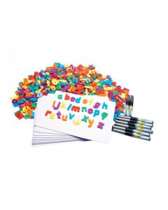 Magnetic Literacy Kit in Storage Container 594pcs