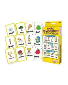 Word Recognition Flash Cards 162pcs