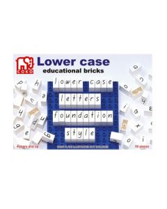 Coko Lower Case Learning Bricks 50pcs
