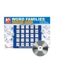 Coko Word Families Learning Bricks 25pcs