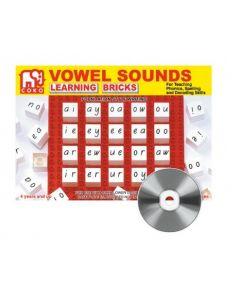 Coko Vowel Sounds Learning Bricks 20pcs