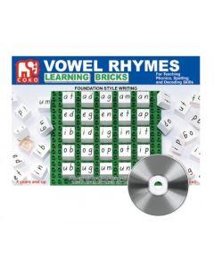 Coko Vowel Rhymes Learning Bricks 25pcs