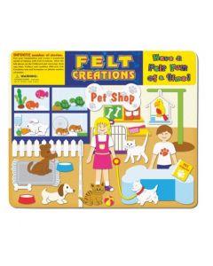 Pet Shop Felt Set 51pcs