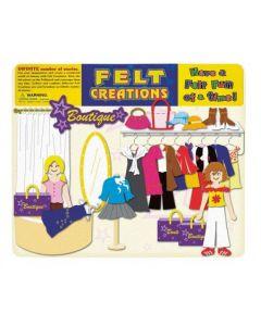 Clothes Shop Felt Set 45pcs
