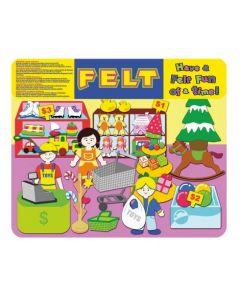 Toy Shop Felt Set 49pcs