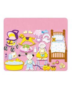 Babies Nursery Felt Set 41pcs