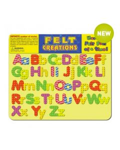 The Alphabet Felt Set 49pcs