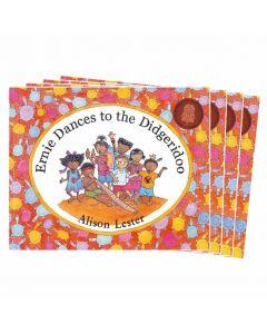 Ernie Dances to the Didgeridoo Listening Post Set 4 Books & 1CD