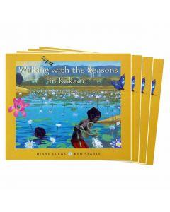 Walking the Seasons in Kakadu Listening Post Set 4 Books & 1CD