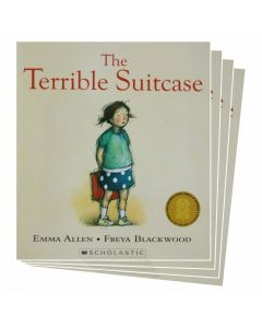 The Terrible Suitcase Listening Post Set 4 Books & 1CD