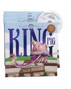 King Pig Listening Post Set 4 Books & 1CD
