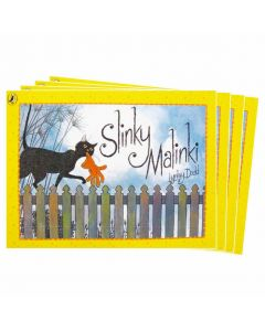 Slinki Malinki Listening Post Set 4 Books & 1CD
