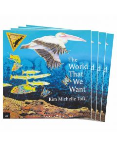 The World That We Want Listening Post Set 4 Books & 1CD