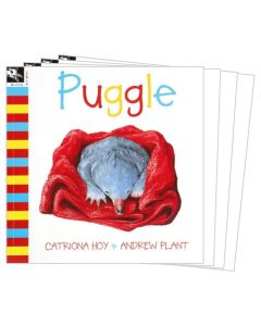Puggle Listening Post Set 4 Books & 1CD