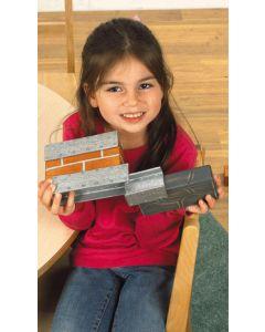 Unit Bricks Beams Set 25pcs