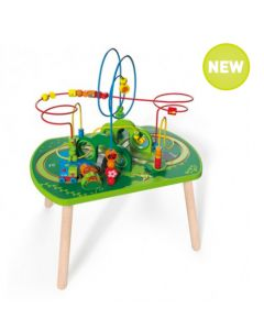 Jungle Train Activity Bead Frame Table
