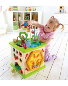 Country Critters Play Cube & Bead Frame