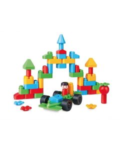 Poly-M Creative City Set 50pcs