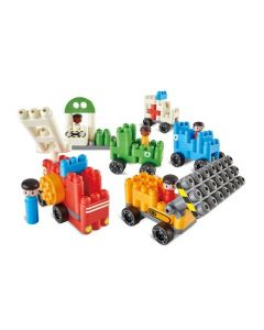 Poly-M Vehicles Set 129pcs