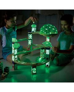 Deep Space City Glow in the Dark Marble Run 176pcs