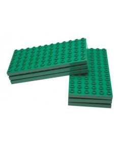 Half Base Plates for Medium Nursery Blocks 6pcs