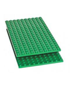 Coko Half Base Plate for Standard Bricks 2pcs
