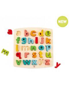 Raised and Chunky Lower Case Alphabet Puzzle 26pcs