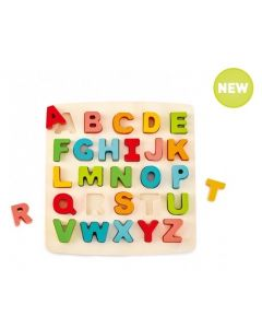 Raised and Chunky Upper Case Alphabet Puzzle 26pcs