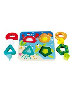 Underwater Shapes Puzzle 8pcs