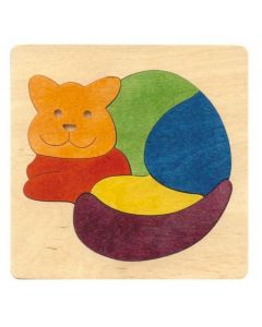 Lucky Rainbow Cat Puzzle 6pcs