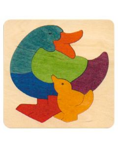 Lucky Rainbow Duck Puzzle 7pcs