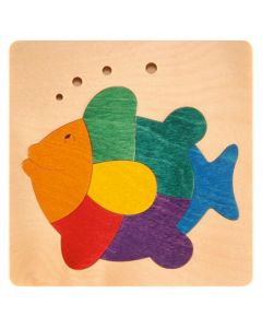 Lucky Rainbow Fish Puzzle 7pcs