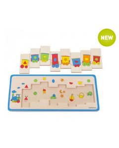 Shapes Train Matching Puzzle 8pcs