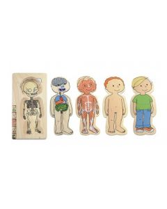 Boy Layer Puzzle 28pcs