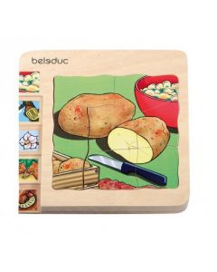 Potato 5 Layer Wooden Puzzle 30pcs