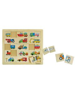 Mix & Match Transport Game 30pcs