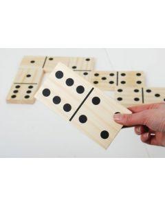 Giant Wooden Dominoes 28pcs
