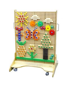 Double-Sided Mobile STEM Wall 86cmW x 125cmH
